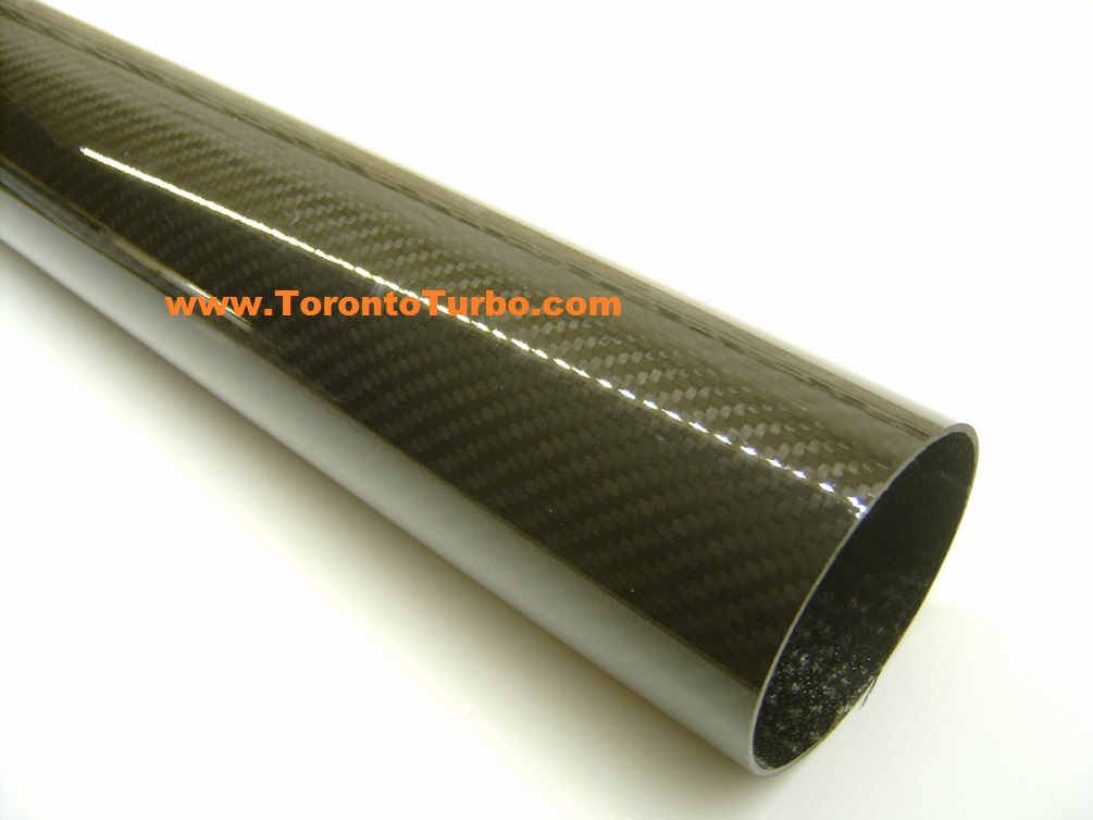 "Carbon Fiber 4"" Straight Length 24"""