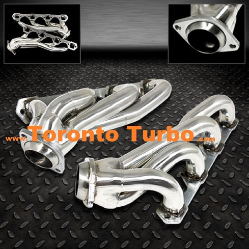 Header Mustang 79-93 Stainless Steel