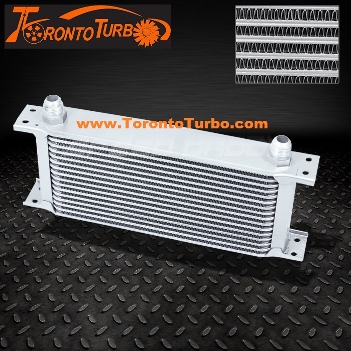 16 Row Oil Cooler - Silver