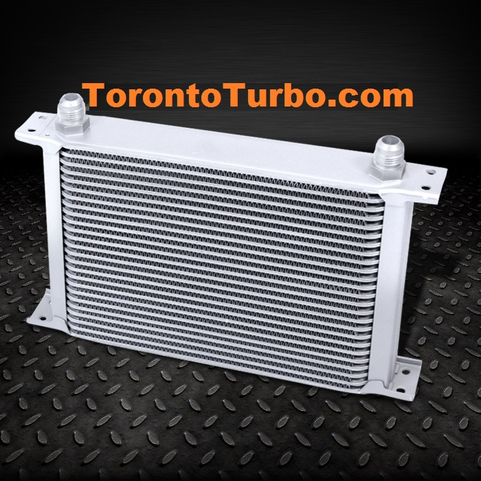 Oil Cooler 25 row - Silver