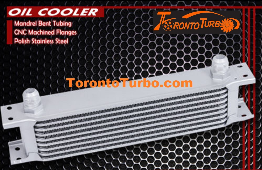 Oil Cooler 9 row - Silver